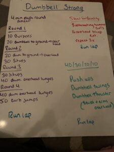 02/26/2021 - hideout - Dumbbell Strong